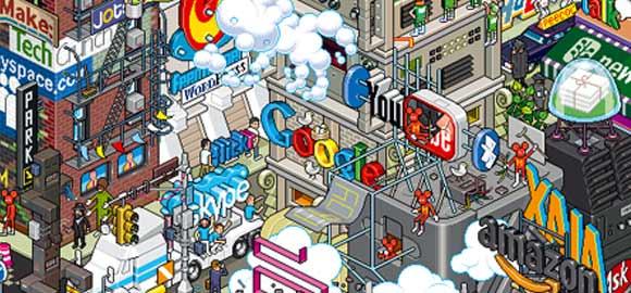 Foursquare, Gowalla, Redes sociales