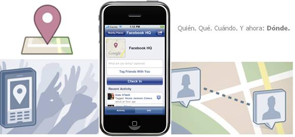 Aplicación Móvil, Facebook