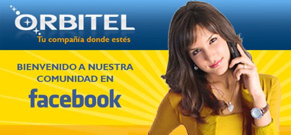Orbitel, redes sociales, Facebook