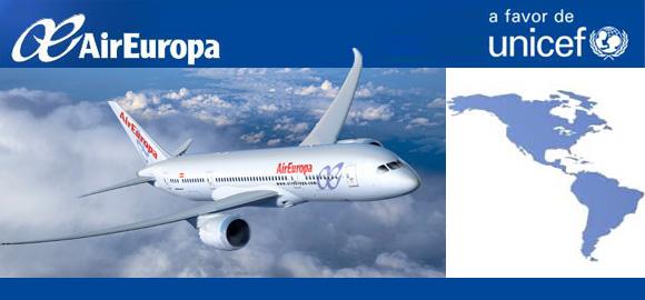 Air Europa, vuelos solidarios