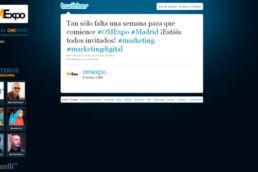 Estrategia Twitter OMExpo