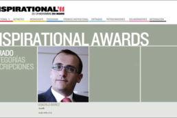 inspiraional awards 2011 marketing online