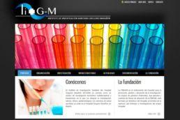 web sanitaria marañon marketing online
