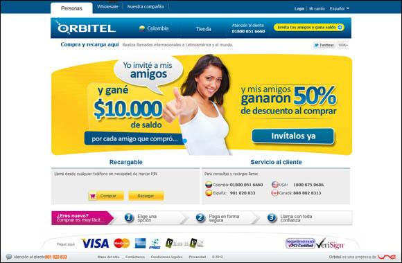 Kanlli amplía a Colombia y Canadá sus servicios de marketing en buscadores para Orbitel