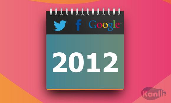 lo mas buscado en google 2012
