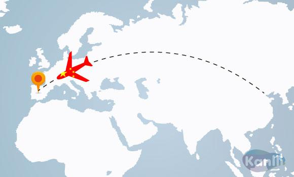 españa y europa turismo chino