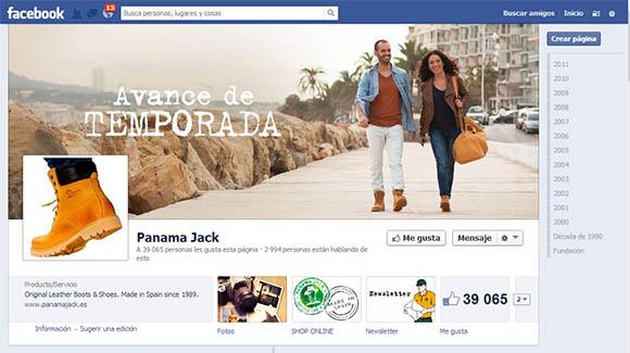 Acción Facebook Panama Jack