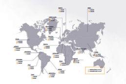 Conexión Internet en el mundo
