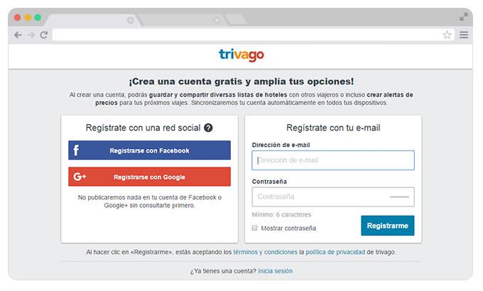registro online