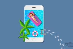 social media marketing en vacaciones