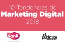 infografía tendencias marketing digital 2018