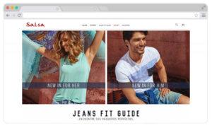 agencia digital deSalsa Jeans