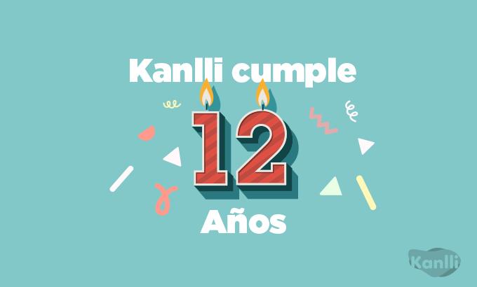 Kanlli celebra su 12 Aniversario