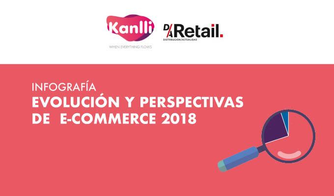 Infografía Evolución y Perspectivas e-commerce 2018