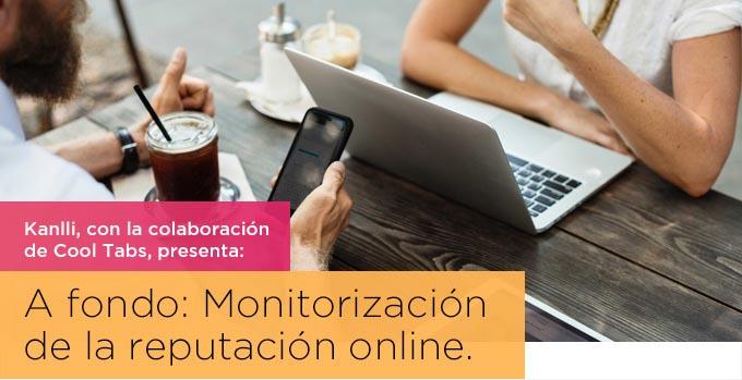monitorización de la reputación online