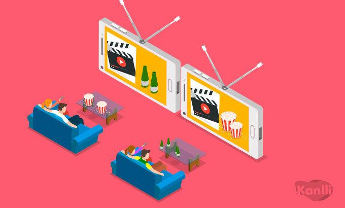 vídeo y televisión programática