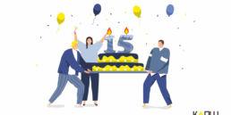Kanlli celebra su 15 aniversario